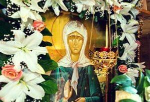 Молитва от врагов на работе Матроне Московской