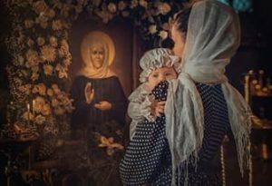 Молитвы святой Матроне Московской за детей